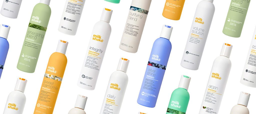Collection of milk_shake shampoos